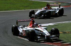 Jacques Villeneuve, Honda Racing, Jenson Button, Honda Racing