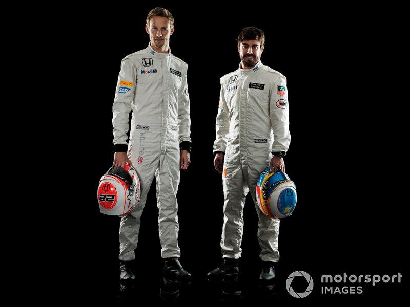 Jenson Button et Fernando Alonso chez McLaren
