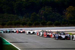Sam Bird, Envision Virgin Racing, Audi e-tron FE06, Daniel Abt, Audi Sport ABT Schaeffler, Audi e-tron FE06