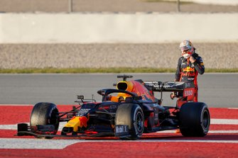 Max Verstappen, Red Bull Racing, fermo in pista