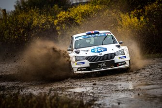 INGRAM Chris, WHITTOCK Ross, Skoda Fabia R5, Rally Hungary, FIA ERC