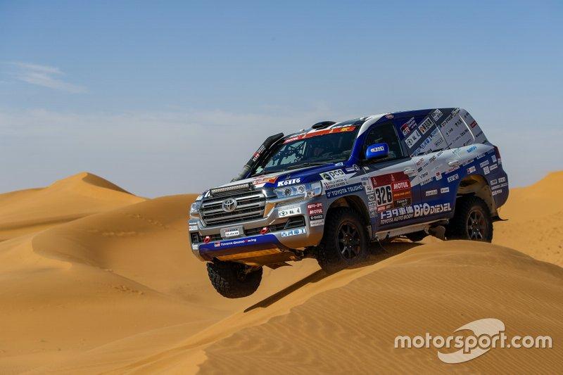 #326 Toyota Auto Body: Christian Lavieille, Jean-Pierre Garcin