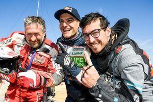 #251 Sonik Team Yamaha: Rafal Sonik, #250 Drag'on Racing Yamaha: Ignacio Casale