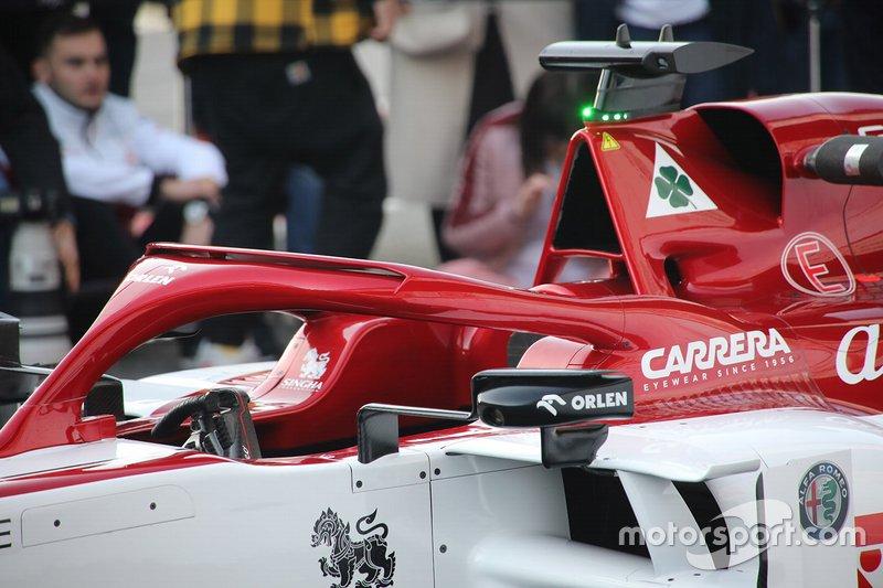 Detalles del Alfa Romeo C39
