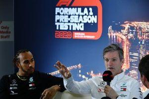 Lewis Hamilton, Mercedes-AMG Petronas F1 en James Allison, Technical Director, Mercedes AMG