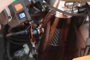 Marc Marquez, Repsol Honda Team, ride height suspension lever detail