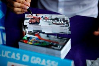 Lucas Di Grassi, Audi Sport ABT Schaeffler signs autographs for fans