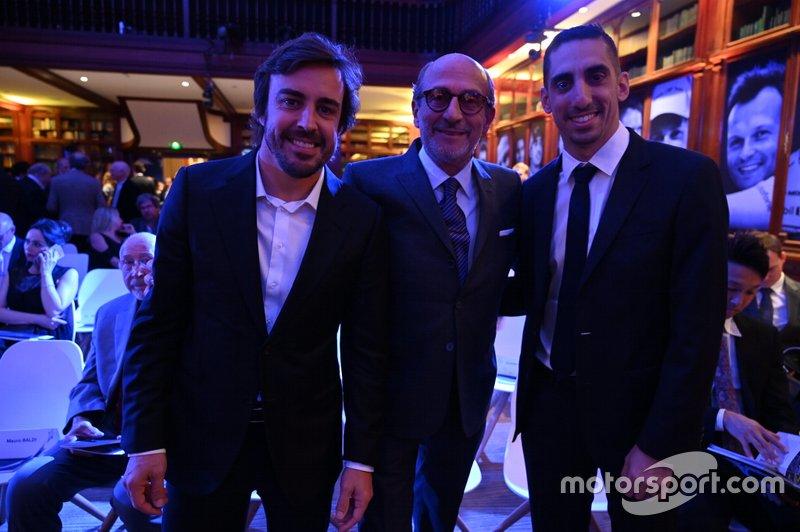 Fernando Alonso e Sebastien Buemi