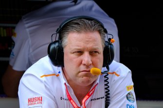 Zak Brown, CEO de McLaren