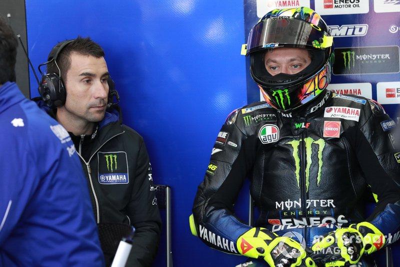 David Muñoz - Valentino Rossi, Petronas Yamaha SRT