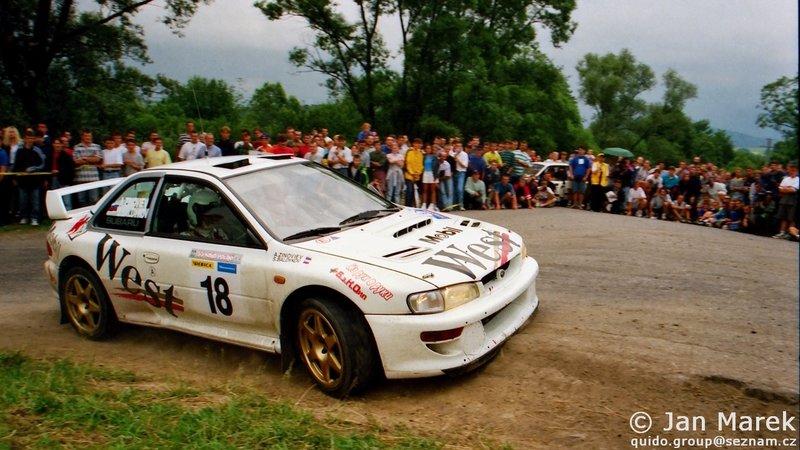 Sergey Baldykov, Anton Zinoviev, Subaru Impreza S4 WRC '98, Rajd Polski 1998