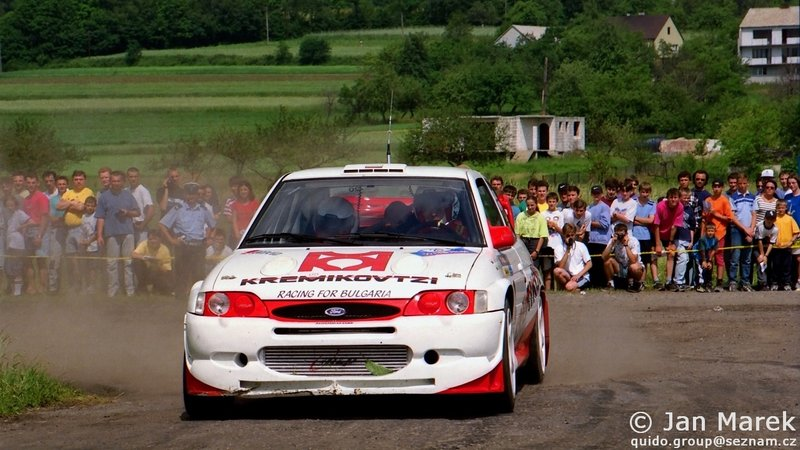 Jasen Popov, Dilian Popov, Ford Escort WRC, Rajd Polski 1998