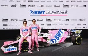 Sergio Perez, Racing Point and Lance Stroll, Racing Point