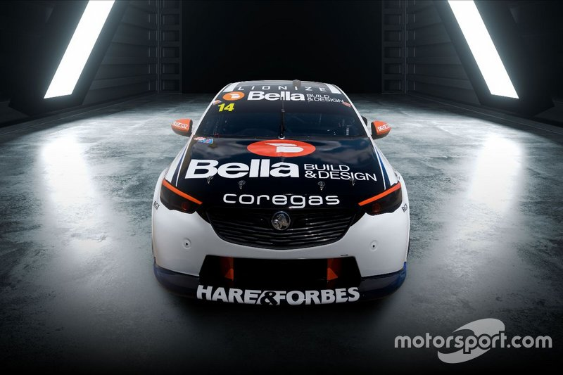 Todd Hazelwood, Brad Jones Racing Holden Commodore