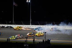 The Big One: Ross Chastain, Spire Motorsports, Chevrolet Camaro, Ryan Preece, JTG Daugherty Racing, Chevrolet Camaro, Tyler Reddick, Richard Childress Racing, Chevrolet