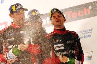 Racewinnaars Pipo Derani, Eric Curran