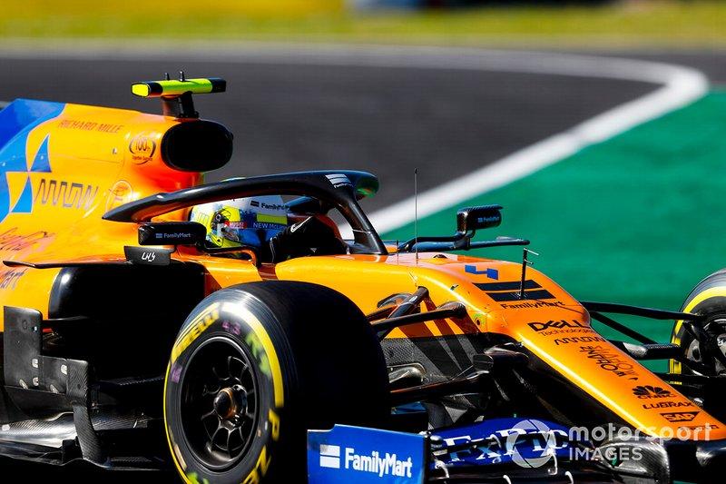 11 - Lando Norris, McLaren MCL34