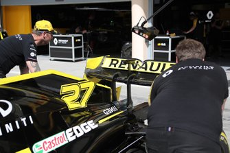 Renault F1 Team technical details