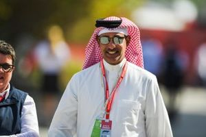 Shaikh Salman Bin Isa Al Khalifa, Chief operating Officer Bahrain International Circuit