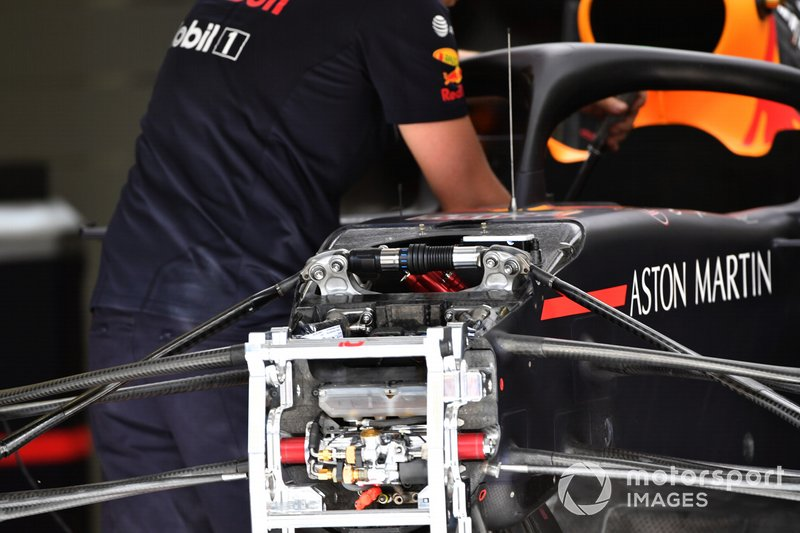 Red Bull Racing RB15 ön süspansiyon