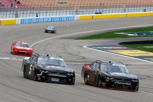 Morgan Shepherd, Shepherd Racing Ventures, Chevrolet Camaro and Matt Mills, B.J. McLeod Motorsports, Chevrolet Camaro J.F. Electric