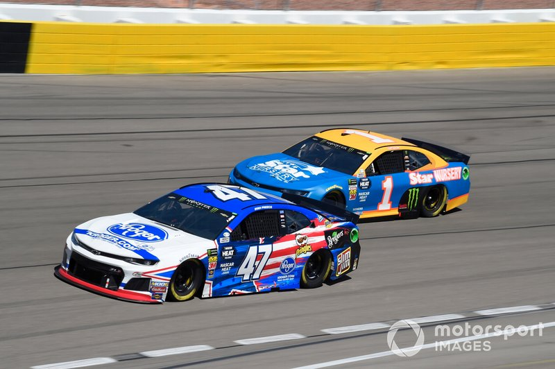 Ryan Preece, JTG Daugherty Racing, Chevrolet Camaro Kroger, Kurt Busch, Chip Ganassi Racing, Chevrolet Camaro Star Nursery