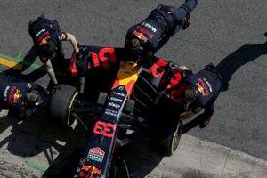 Avant de la Red Bull RB15