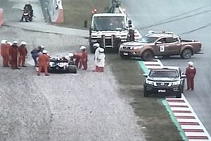 Alex Albon, Scuderia Toro Rosso STR14
