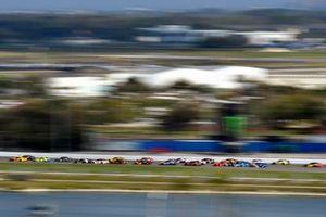 Joey Logano, Team Penske, Ford Mustang Shell Pennzoil and Ryan Blaney, Team Penske, Ford Mustang Menards/Peak