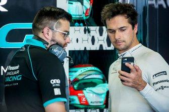 Nelson Piquet Jr., Panasonic Jaguar Racing, Jaguar I-Type 3, in de garage