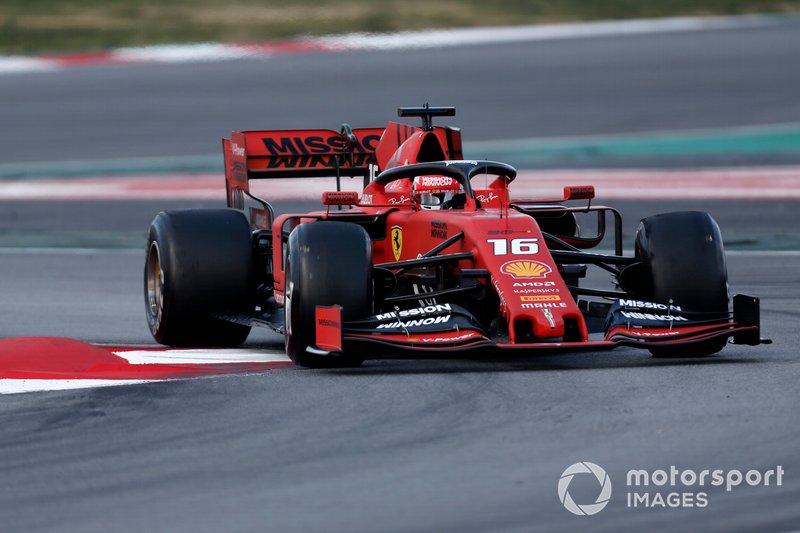 Крыло Ferrari SF90