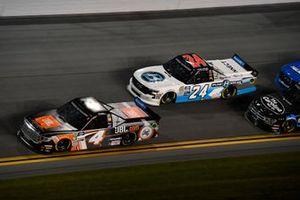 Todd Gilliland, Kyle Busch Motorsports, Toyota Tundra JBL and Brett Moffitt, GMS Racing, Chevrolet Silverado
