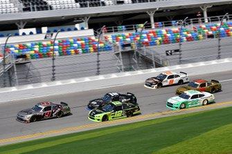 Noah Gragson, JR Motorsports, Chevrolet Camaro Switch and Brad Keselowski, Team Penske, Ford Mustang Fitzgerald