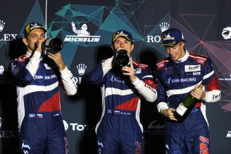 Podium: #11 SMP Racing BR Engineering BR1: Mikhail Aleshin, Vitaly Petrov, Brandon Hartley