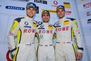 Podyum : #99 ROWE Racing BMW M6 GT3: Nick Catsburg, Marco Wittmann, John Edwards