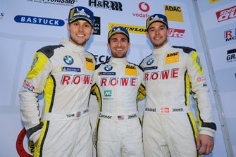Podium: #99 ROWE Racing BMW M6 GT3: Nick Catsburg, Marco Wittmann, John Edwards