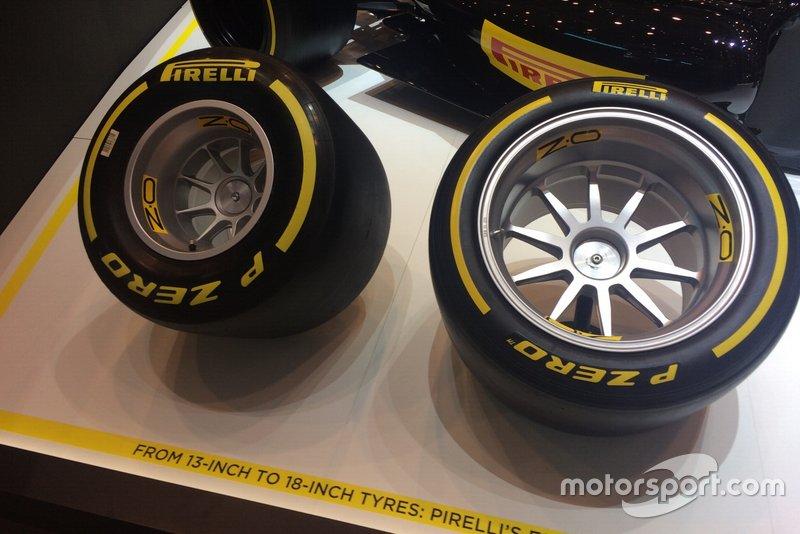 Pneumatici Pirelli da 13 e 18 pollici