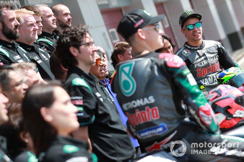 Франко Морбіделлі, Petronas Yamaha SRT, з командою