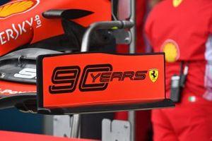 Торцевая пластина переднего антикрыла Ferrari SF90