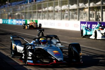 Oliver Rowland, Nissan e.Dams, Nissan IMO1, practices a start