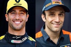 Daniel Ricciardo, Renault F1 Team, Johann Zarco, Red Bull KTM Factory Racing
