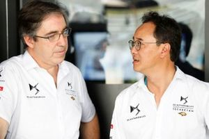 Mark Preston, Team Principal, DS TECHEETAH, with Ivan Yim, DS TECHEETAH Managing Director