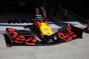Red Bull Racing voorvleugel detail