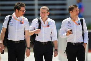 Старший инженер Mercedes AMG F1 Энди Шовлин