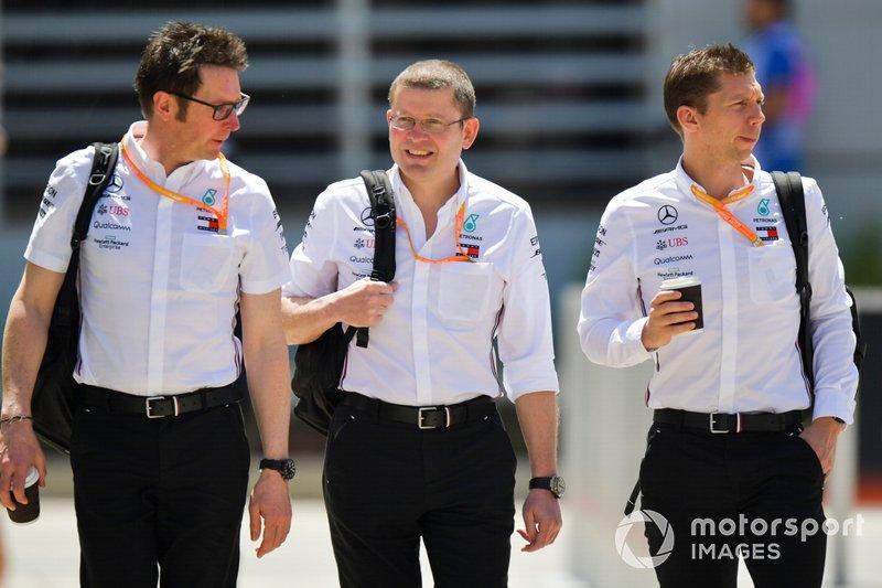 Andrew Shovlin, Şef Yarış Mühendisi, Mercedes AMG