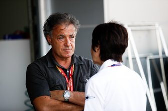 Jean Alesi father of Giuliano Alesi, TRIDENT