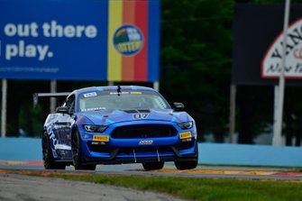 #07 TA4 Ford Mustang driven by Brian Kleeman of DWW Motorsports