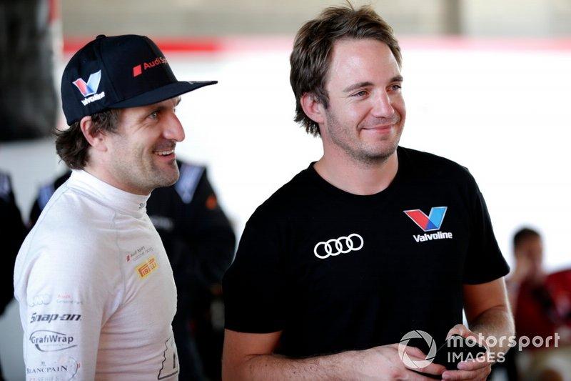 #2 Audi Sport Team Valvoline Audi R8 LMS: Markus Winkelhock, #22 Audi Sport Team Valvoline Audi R8 LMS: Frederic Vervisch