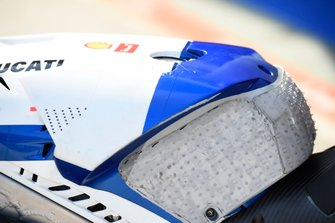 Pramac Ducati, dettaglio del serbatoio
