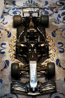 La nouvelle livrée sur la Haas F1 Team VF-18
